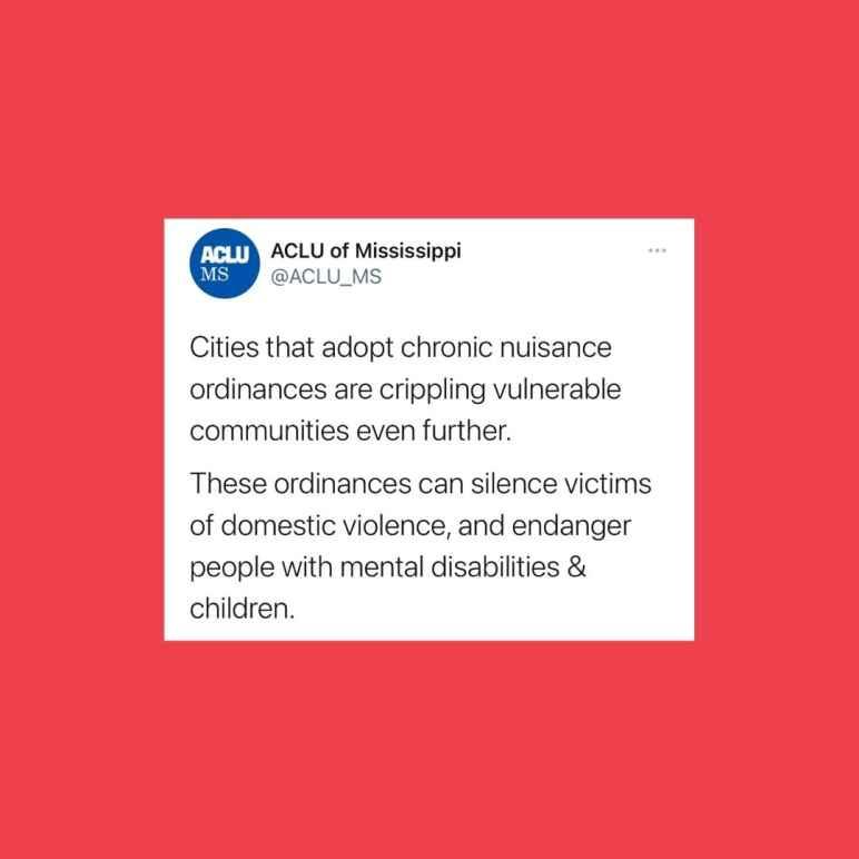 Chronic Nuisance and Crime-Free Ordinances