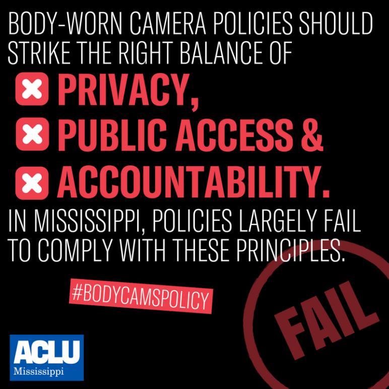 Local Body Cams Policies Fail