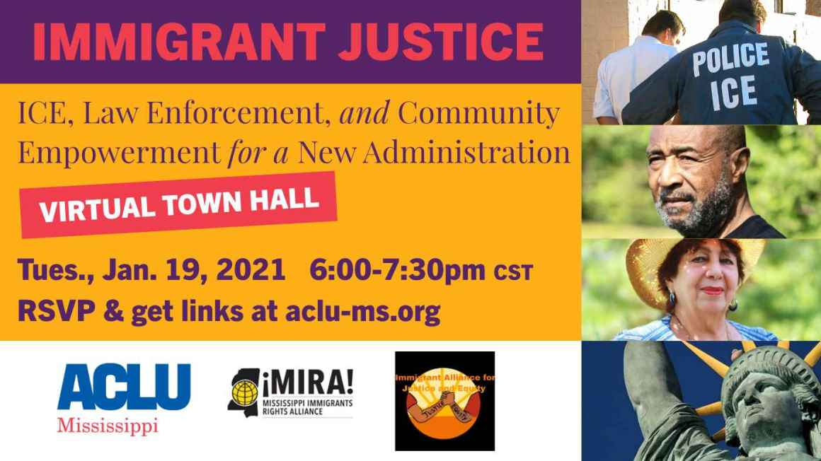 Immigrant Justice Town Hall: The Impact of ICE on Community Welfare