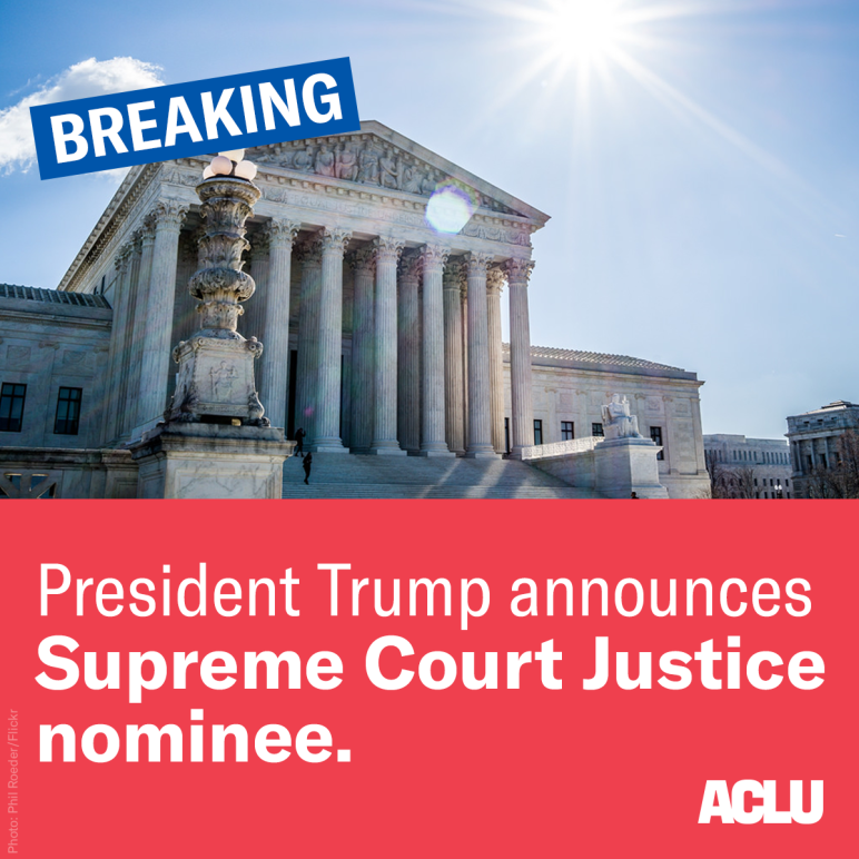 SCOTUS Announcement 2018