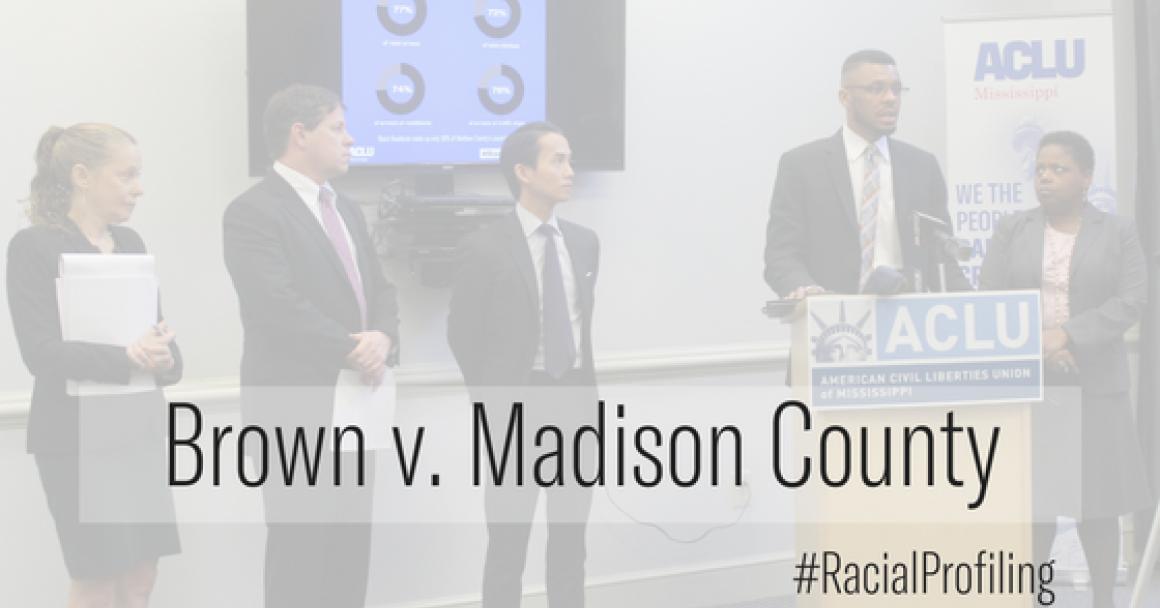 Brown v. Madison County Presser image