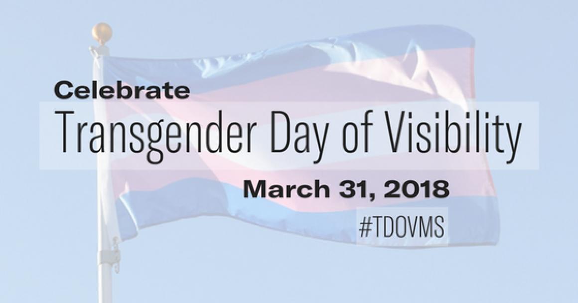 Transgender Day of Visibility web banner