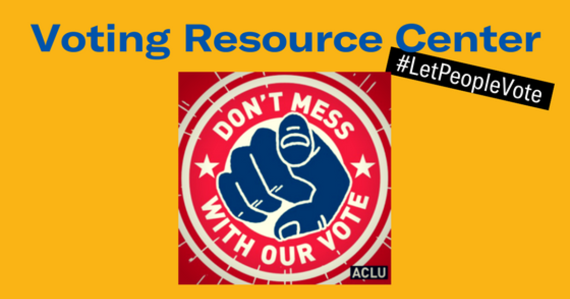 Voting Rights Resource Center website Banner